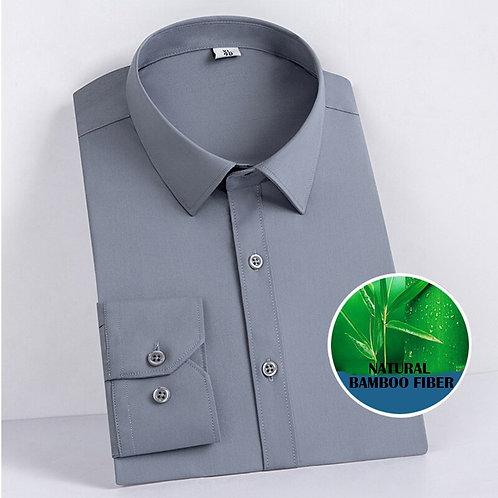 竹纖維男士商務簡約純色襯衫Bamboo Fiber Business Shirt