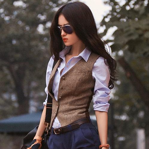 女騎士修身外套背心 Horse Rider Slim Fit Vest
