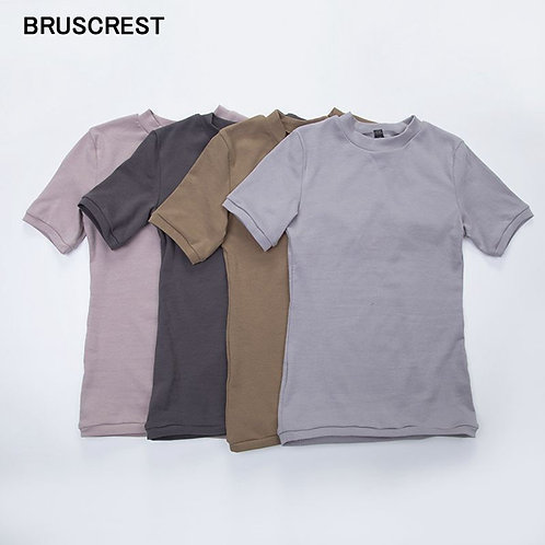 頂部韓版彈性短袖Top Korean Short  Tshirt