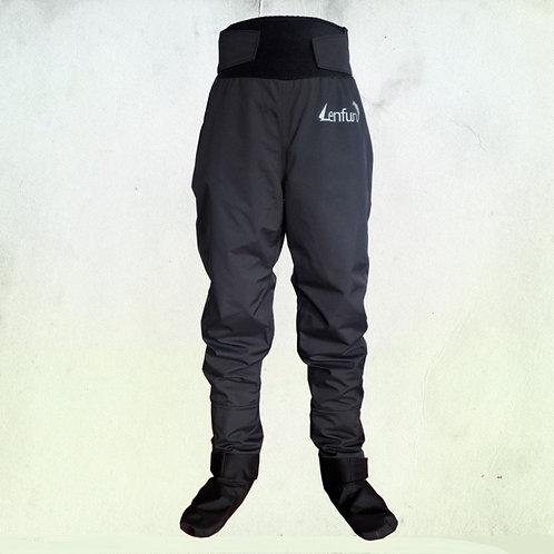 中性防水乾燥褲 Unisex dry trousers,waterproof Fishing Integrated Socks