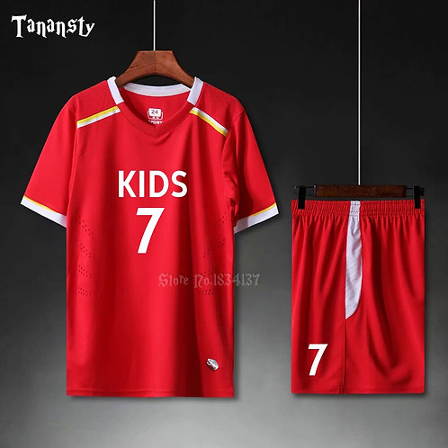 兒童菱格紋透氣運動套裝Diamond check breathable sports suit for Kids