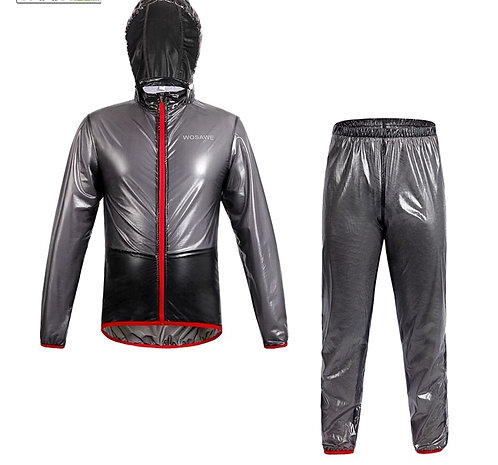 運動防水防風套裝 Waterproof Windproof Outerwear Rain Jacket set