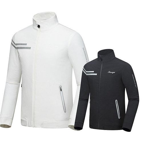 紳士秋冬長袖高爾夫防風雨透氣外套 Gentleman long-sleeved golf windproof and breathable jacket