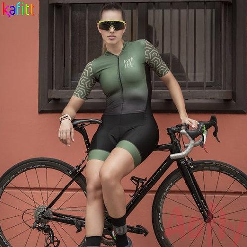 Kafitt女短袖自行車最暢銷連身衣 Kafitt Biker Best Selling Women's Cycling Jumpsuit