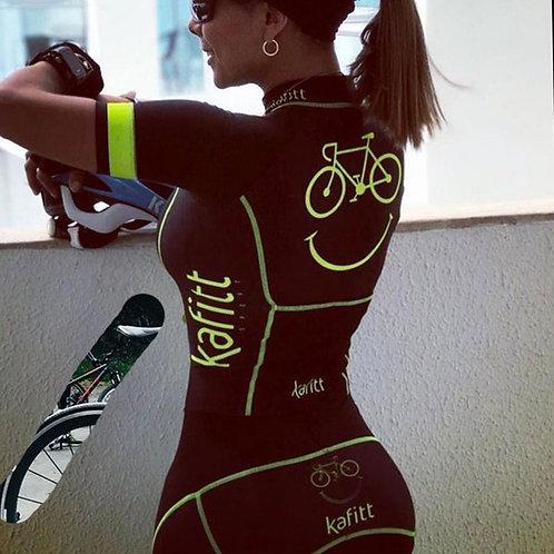 KAFITT職業鐵人三項騎車短袖連身衣 KAFITT Pro Team Triathlon Cycling Jersey Shortsuit
