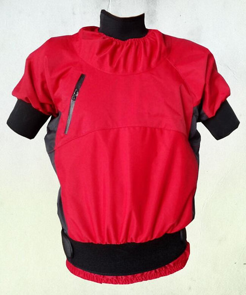短袖獨木舟防水衣 Short-sleeved canoe waterproof jacket
