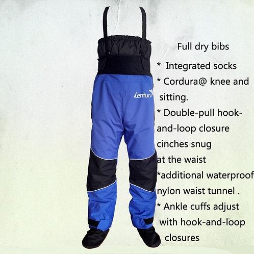 划船超級防水乾燥褲 Dry Bibs With Integrated Socks