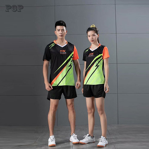 浪漫飆汗情侶球衣套裝Romantic sweating couple jersey set