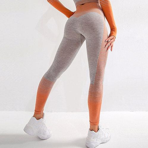 超級彈力能量無縫七分緊身瑜珈褲 Stretchy Energy Seamless Cropped Yoga Pants