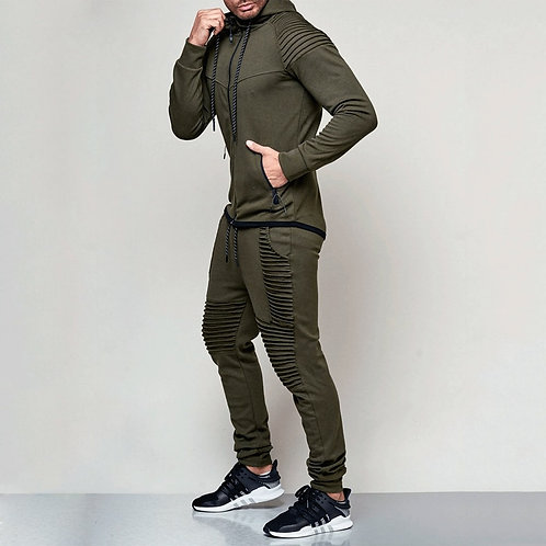 2件式男士時尚運動服 2 Pieces Set Men Fashion Tracksuit