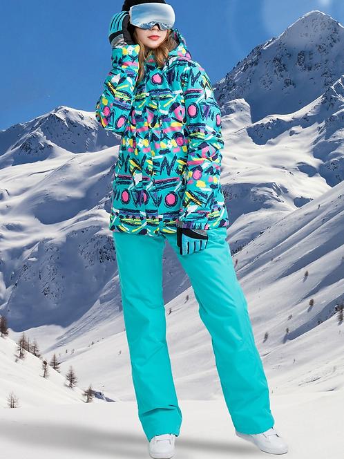 甜心女孩超強防水滑雪套裝Sweetheart super waterproof ski suit
