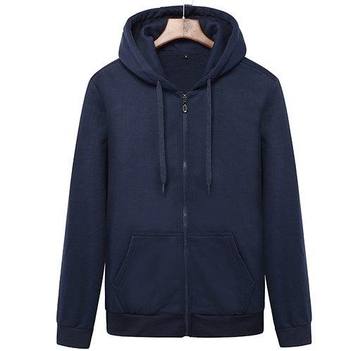 紳士保暖帽外套Velvet Sweatshirt for Men