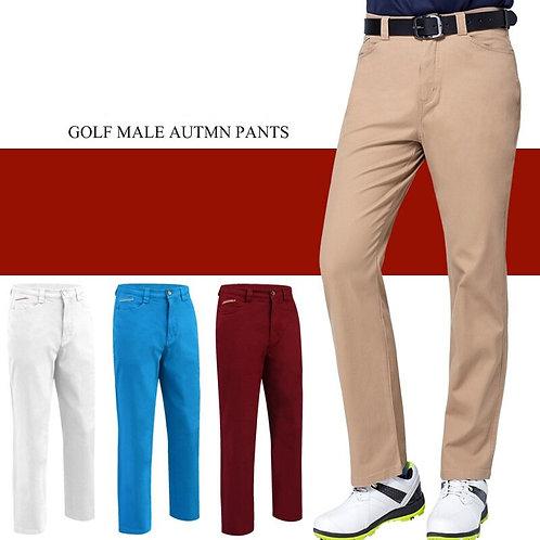 秋冬防風男士高爾夫加厚保暖高彈力長褲 Autumn/winter windproof men's golf high stretch trousers