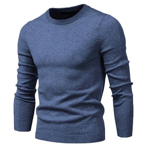 新款圓領套頭仿羊毛長袖衫New O-Neck Pullover Men's Sweater