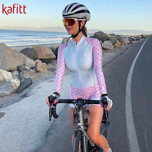 KAFITT單車競賽長袖連身衣 KAFITT Long-Sleeved Cycling Wear Suit