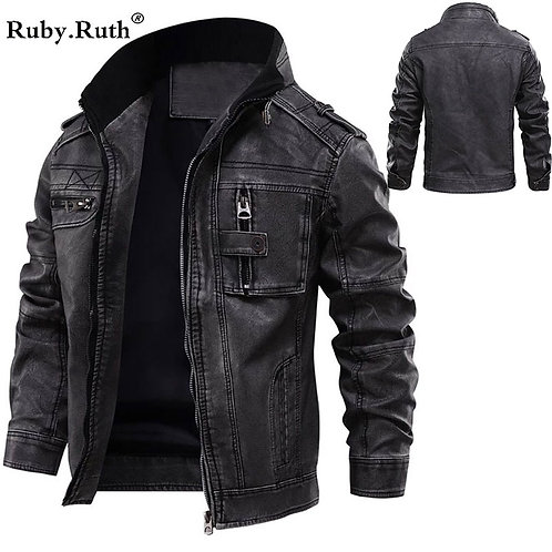 冬季保暖騎士時尚紡皮外套 Motorcycle & Fashion PU Outer