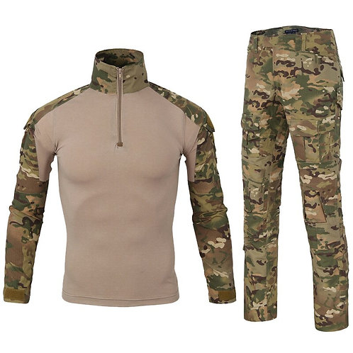 高品質迷彩徒步垂釣狩獵套服 High Quality Camouflage Tactical Hiking / Hunting Shirt