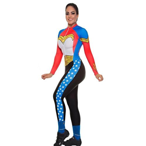 DUNAS女英雄自行車連身衣褲 Cycling Overalls for Women Jumpsuit