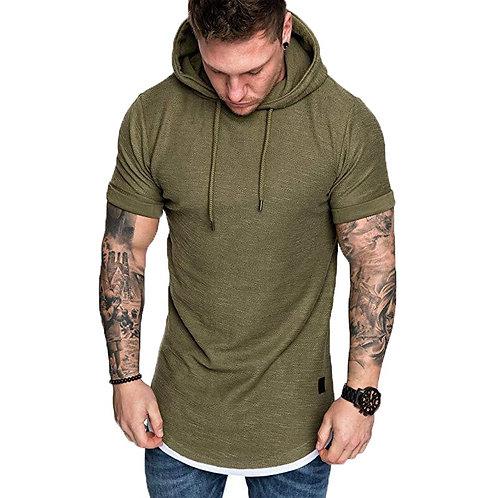男士時尚連帽T恤 Cool Comfort Hoodies T-Shirt