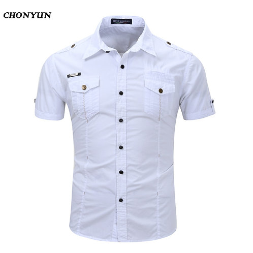 歐洲透氣修身速乾休閒襯衫Breathable Slim Fit Quick-Dry Casual Shirt