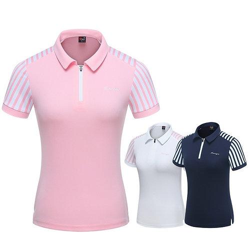 女子設計款專業比賽指定POLO機能衫 Women's design professional competition POLO functional shirt