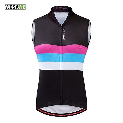 女士自行車背心外套/上衣 Women Cycling Sleeveless Jacket Vest/Top