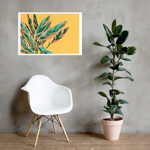 Leafy Poster