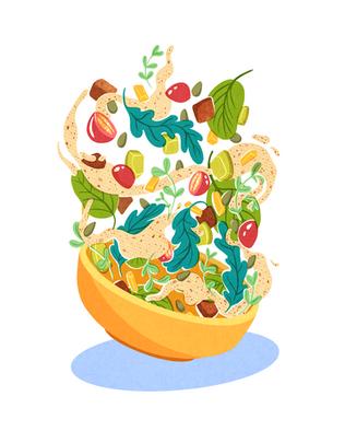 Scrumptious Salad
