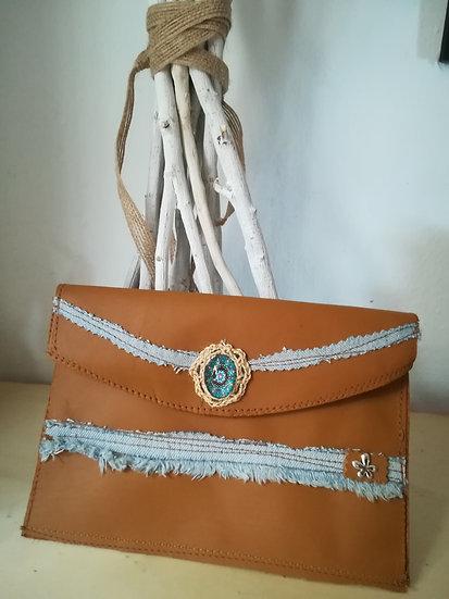Cartera  color camel / Camel wallet
