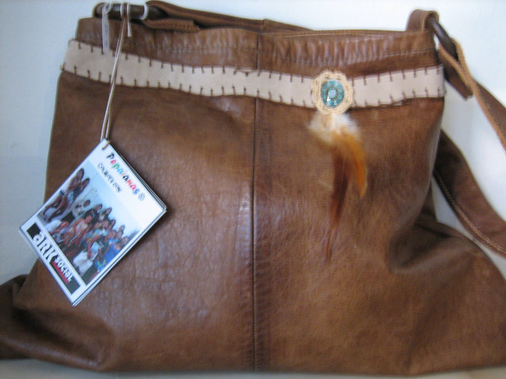 Bolso de pell marró / Bolso de piel marrón / Brown leather bag