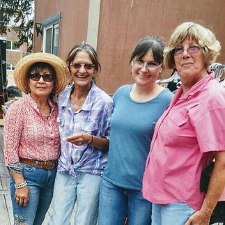 Beautiful volunteers!