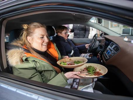 Winterse tweede editie van de Lions Dinner Drive 🍴🚗❄️ ❤️
