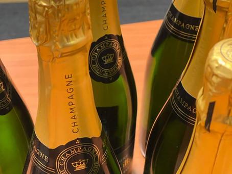 Champagne campagne een succes, 162 flessen verkocht🍾