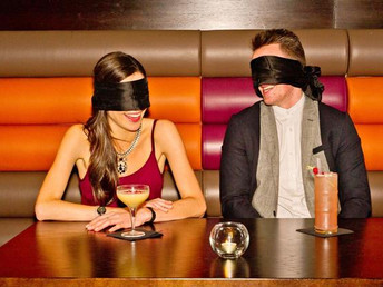 How to break the ice on a blind date