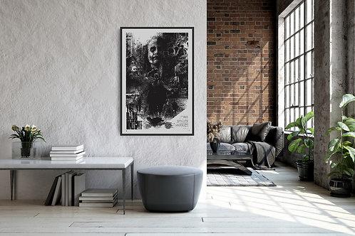The Dark Knight Framed Poster