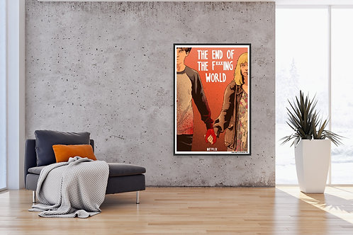 The End of the F***ing World Framed Poster