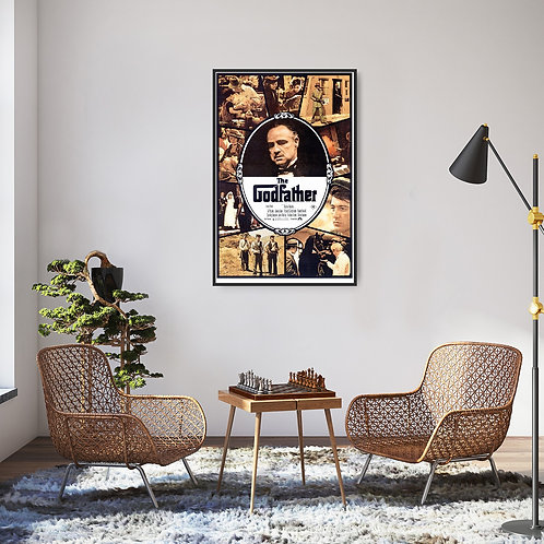 The Godfather Framed Poster