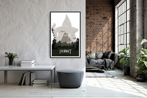 The Hobbit: The Desolation of Smaug Framed Poster