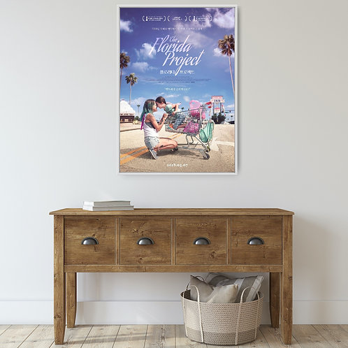 The Florida Project Framed Poster