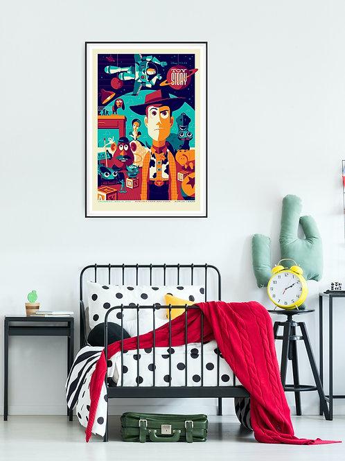 Toy Story Framed Poster