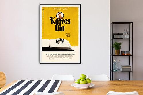 Knives Out Framed Poster
