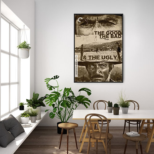 The Good, the Bad and the Ugly Framed Poster