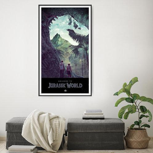 Jurassic World Framed Poster