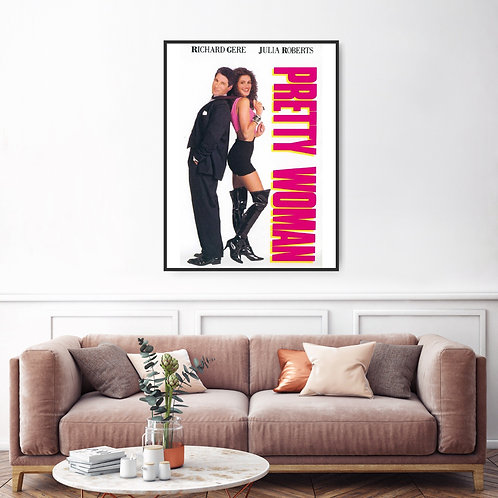 Pretty Woman Framed Poster