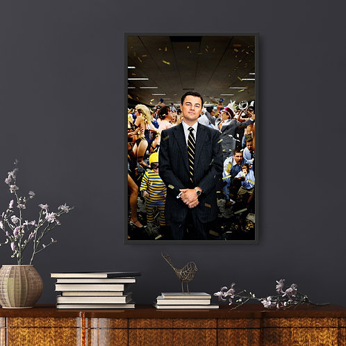 The Wolf of Wall Street Framed Poster