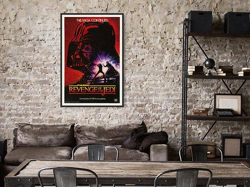 Star Wars Revenge of the Jedi  Framed Poster