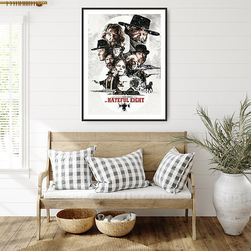 The Hateful Eight Framed Poster