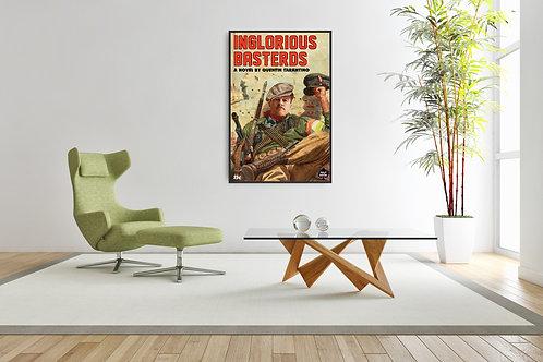 Inglorious Bastards Framed Poster