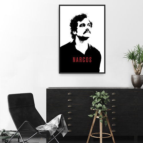 Narcos Framed Poster