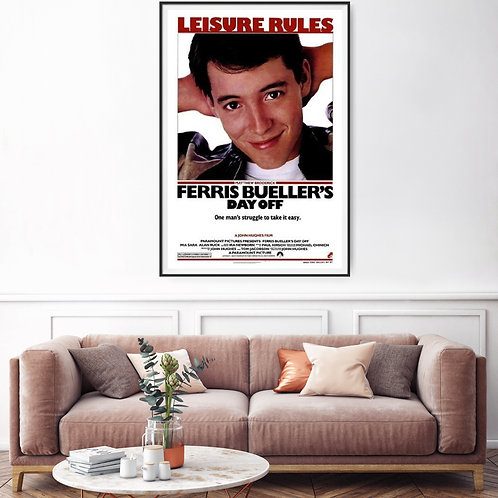 Ferris Bueller's Day Off Framed Poster